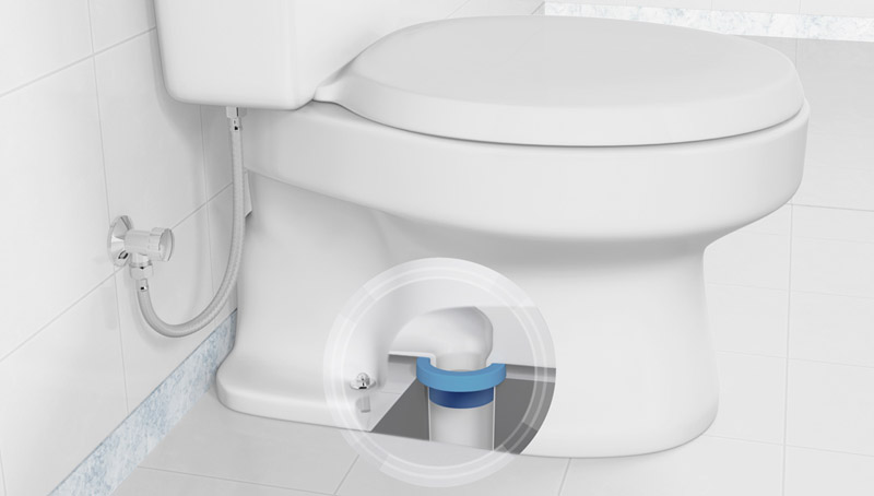Blue Seal Toilet Donut Seal Ring Water Saver