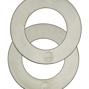 Large Plastic ABS Shim Spacer Washers 81mm x 125mm Toilet Drain Adapter