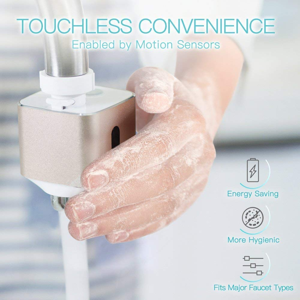 Faucetminder Touchless Automatic Faucet Adapter